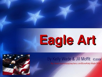 Eagle Art ~ a US Symbol