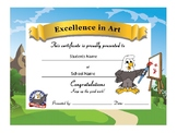 Eagle Award Certificates -Standard