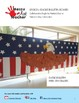 Eagle Bulletin Board Display for Patriots Day or Veterans Day