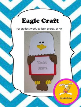 Eagle Craft -for Student Writing, Bulletin Boards, or Art