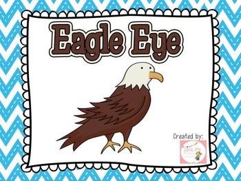 Eagle Eye Reading Strategy Bundle