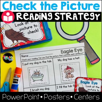 Eagle Eye Reading Strategy: Lesson Plan, PowerPoint, Reader: CC-Aligned!