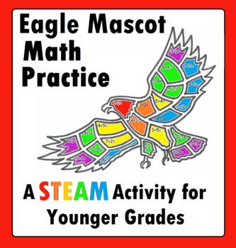 Eagle Hawk Addition Math Practice STEM STEAM for Younger Grades