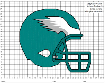Eagle Helmet Mystery Picture (1 Quadrant)