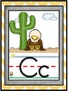 Eagle Mascot Alphabet Line Classroom Decor
