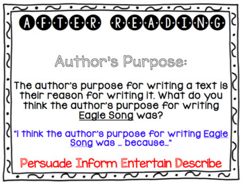 Eagle Song Interactive Read Aloud Projectable