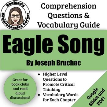 Eagle Song by Joseph Bruchac Comprehension Questions and Vocabulary Guide