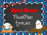 Eagle Theme Open House ~ Back-to-School ~ PowerPoint Template {personalize it}