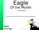 Eagle of the Month Certificate