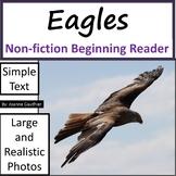 Eagles: Non-fiction animal e-book for beginning readers