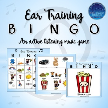 Ear Training Bingo