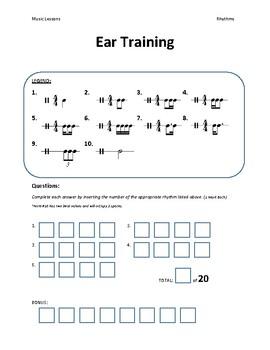 Ear Training - Rhythm
