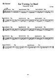 Ear Training for: Clarinet! Concert Bb So - Mi
