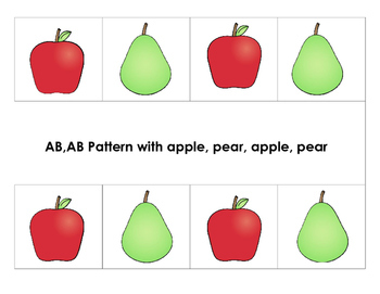 Fruit  Early Learning Math Skills