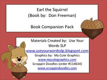 Earl the Squirrel Book Companion