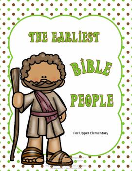 Earliest Bible People Worksheet