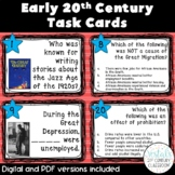 Early 20th Century Task Cards