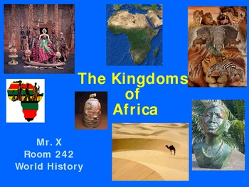 Early African History Powerpoint Presentation