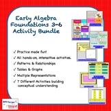 Early Algebra Foundations (3-6) Activity Bundle