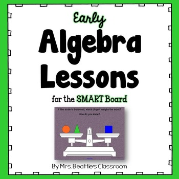 Algebra Lessons for the SMART Board