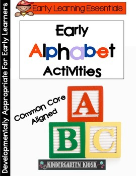 Early Alphabet Activities and Games