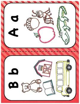 Early Alphabet Flashcards