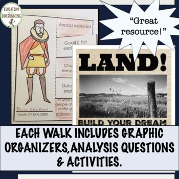 Early America Gallery Walk Activity Bundle for US History