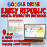Early America Google Drive Interactive Notebook