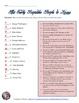 Early America People Matching Worksheet or Quiz