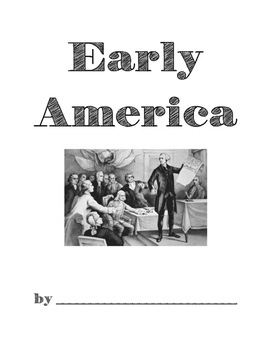 Early America Unit