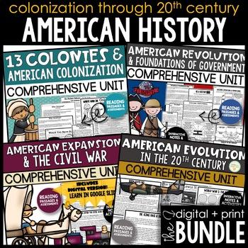 Early America - United States History Bundle (Intermediate Grades)
