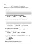 Early American Colonies Quiz