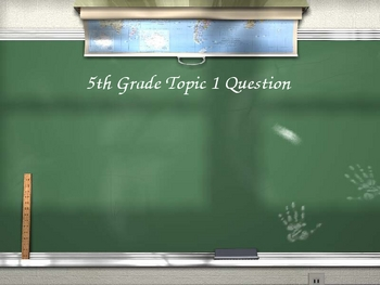 Early American Exploration - Are You Smarter Than A 5th Grader?