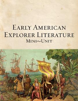 Early American Explorer Literature Mini-Unit