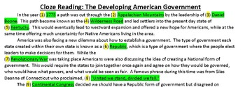 American Government: Bill of Rights, Articles of Confederation, and Constitution