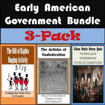 American Government: Bill of Rights, Articles of Confedera