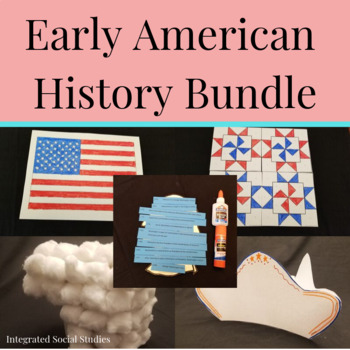 Early American History Activities Bundle