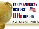 Early American History Big Bundle of Learning Activities