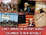 Early American History Bundle
