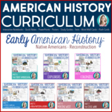 Early American History Bundle (Native Americans -- Reconstruction)