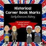 Early American History Corner Book Marks