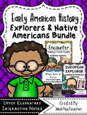 Early American History: Explorers & Native American Bundle