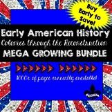 Early American History ULTIMATE Growing Bundle