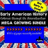 Early American History ULTIMATE Growing Bundle