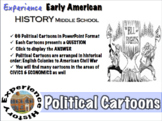 Experiencing Early American History: Political Cartoons / Middle School