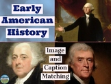 Early American History Primary Source Image Activity