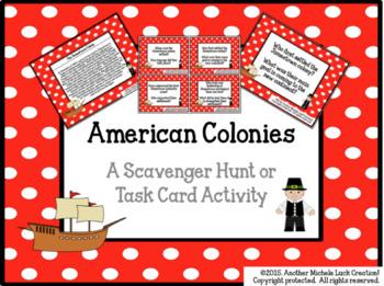 Early American History Task Card Set Bundle