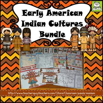 Early American Indian Cultures Bundle (Task Cards Included)