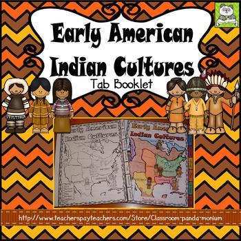Early American Indian Cultures Tab Booklet