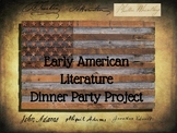 Early American Literature Dinner Party